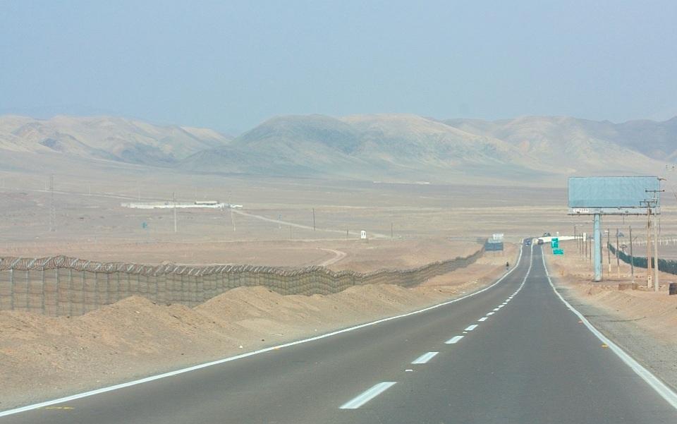 ANF airport, Aeropuerto Nacional Cerro Moreno, Region de Antofagasta, Atacama desert, Desierto de Atacama, Antofagasta, Chile, fotoeins.com