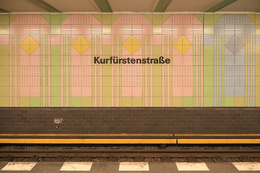 Kurfürstenstrasse, U-Bahn, Berlin U-Bahn, BVG, Berlin, Germany, fotoeins.com