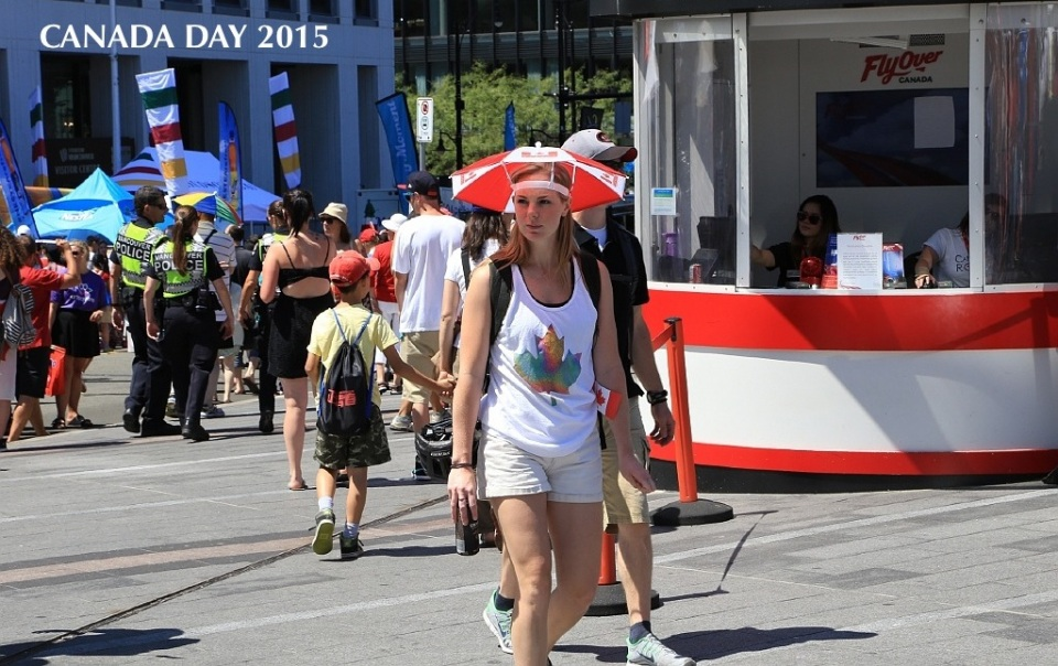 Canada Day 2015, Canada Place, Vancouver Convention Centre, Vancouver, BC, Canada, fotoeins.com