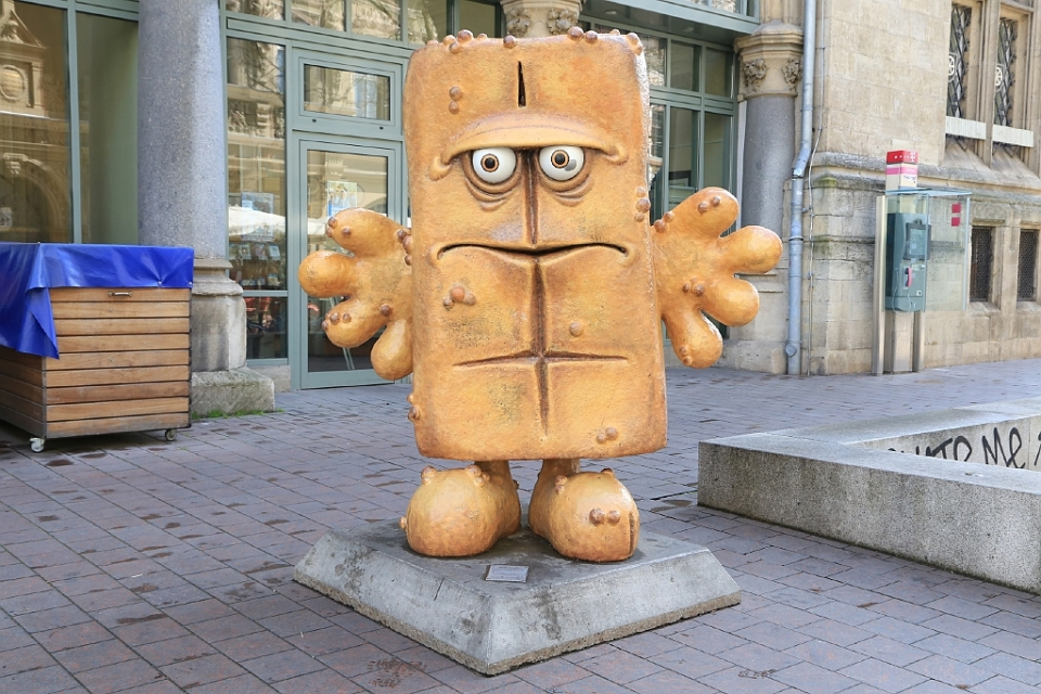 Bernd das Brot, KIKA-Figuren, Erfurt, Thüringen, Germany, fotoeins.com