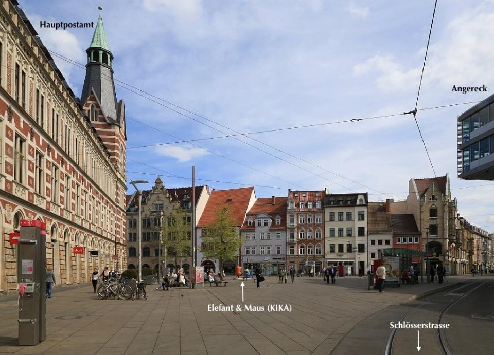 Anger, Schlösserstrasse, Erfurt, Thüringen, Germany, fotoeins.com