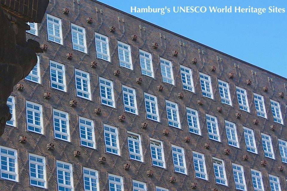 Sprinkenhof, Kontorhausviertel, UNESCO World Heritage Site, Weltkulturerbe, Hamburg, Germany, fotoeins.com