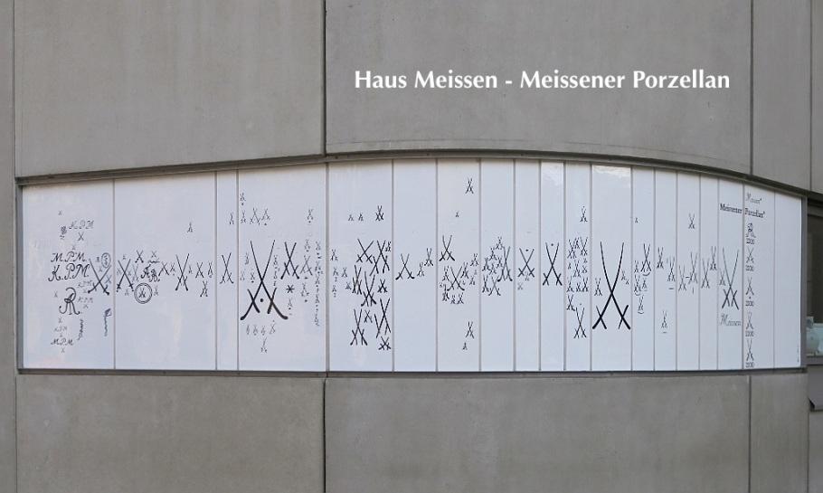 Haus Meissen, Meissener Porzellan, Staatliche Porzellan-Manufaktur Meissen, Meissen, Sachsen, Saxony, Germany, fotoeins.com