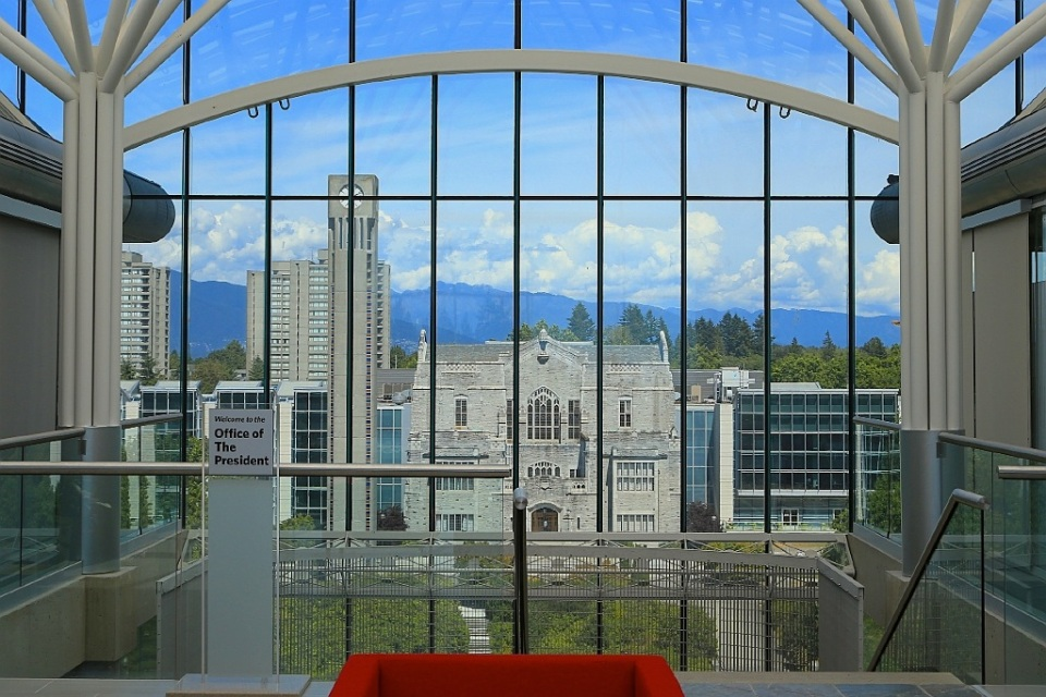 Office of the President, Walter C. Koerner Library, University of British Columbia, Vancouver, BC, Canada, fotoeins.com