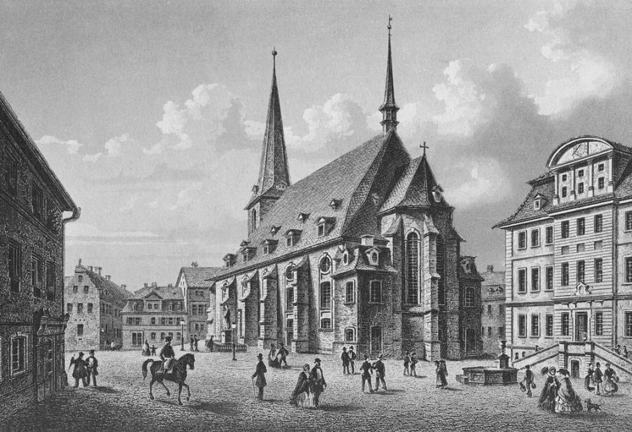 Steel engraving around 1840 by L. Oeder, Wikipedia