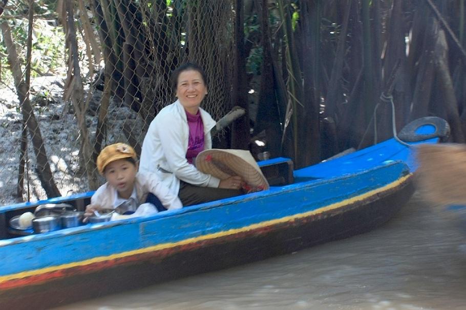 Mekong River Delta, song Tien, Tien Giang, tp. My Tho, Vietnam, fotoeins.com