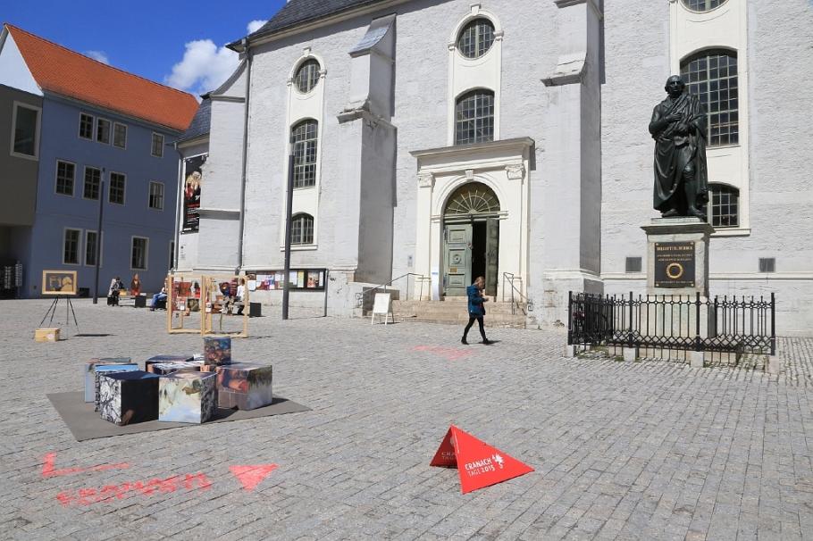 Herderkirche, Stadtkirche, St. Peter and Paul Church, Herderplatz, classic Weimar, Weimar, Thüringen, Thuringia, Germany, UNESCO World Heritage, fotoeins.com