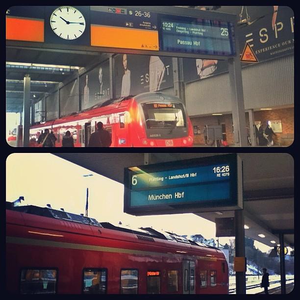 Deutsche Bahn, Regional Bahn, München Hbf, Passau Hbf, Munich, Passau, Germany, Instagram, fotoeins.com
