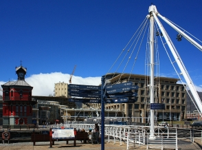 Marina Swing Bridge, V & A Waterfront, Cape Town, South Africa, fotoeins.com