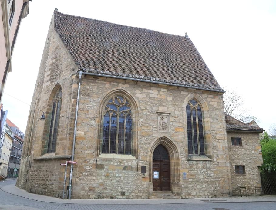 Michaeliskirche (ehem Universitätskirche), St. Michael's Church, Erfurt, Thüringen, Thuringia, Germany, fotoeins.com