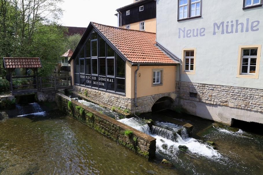 Neue Mühle, New Mill Museum, Erfurt, Thüringen, Thuringia, Germany, fotoeins.com