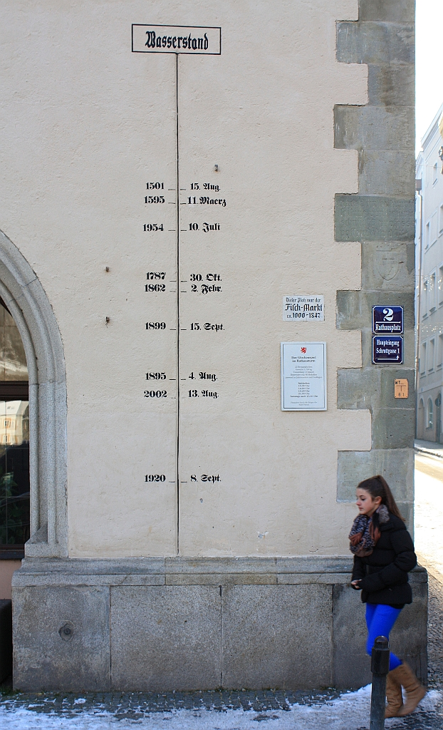 Rathaus, Passau, Bayern, Bavaria, Germany, fotoeins.com