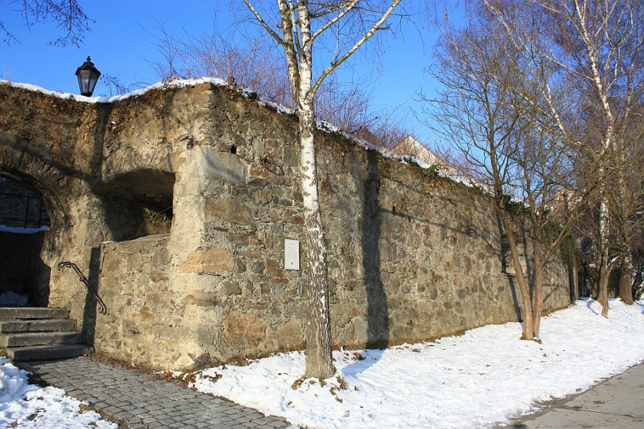 Stadtmauer, Innkai, Altstadt, Passau, Bayern, Bavaria, Germany, fotoeins.com