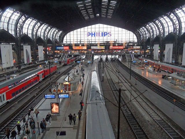 Hamburg Hauptbahnhof, Werner77, Pixabay, Creative Commons license
