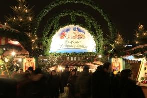 Leipziger Weihnachtsmarkt, Christmas market, Marktplatz, Leipzig, Sachsen, Saxony, Germany, fotoeins.com