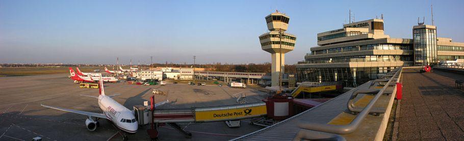 Berlin-Tegel Airport, TXL, Flughafen Berlin-Tegel Otto Lilienthal, 20090401 Wikimedia, by Simisa, CC3.0