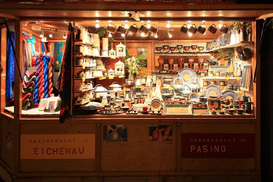 Schwabinger Weihnachtsmarkt, Schwabing Christmas Market, Münchner Freiheit, Muenchen, Munich, Germany, fotoeins.com