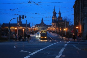 Augustusbruecke, Neustadt, Dresden, Germany, fotoeins.com