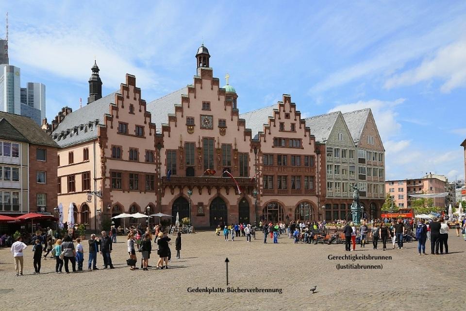 Römerberg, Frankfurt am Main, Germany, fotoeins.com