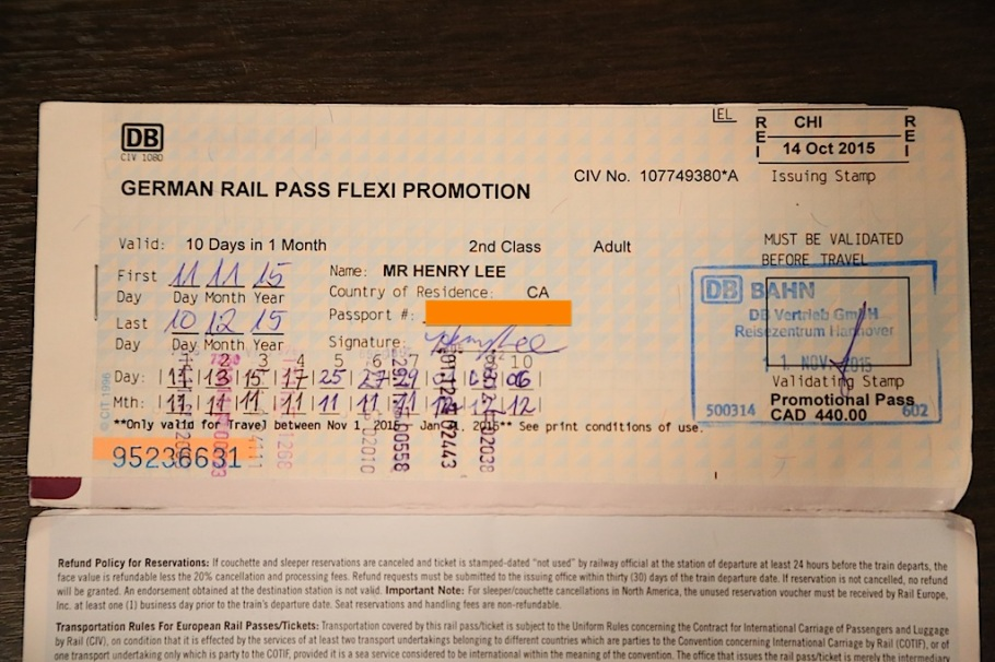 German Rail Pass, Deutsche Bahn, Germany, fotoeins.com