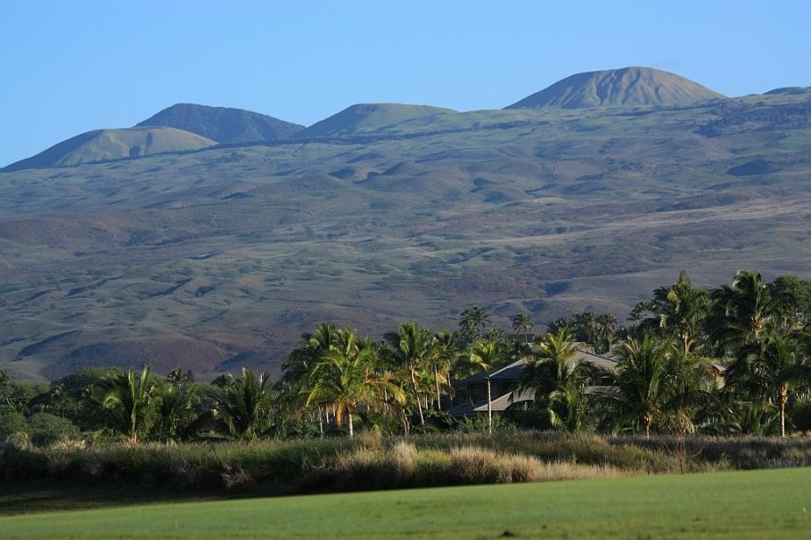 Kohala volcano, Mauna Kea Golf Course, Island of Hawaii, Big Island, Hawaii, USA, fotoeins.com
