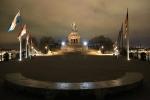 Kaiser-Wilhelm-Denkmal, Rhine river, Rhein, Moselle river, Mosel, Deutsches Eck, Koblenz, Germany, fotoeins.com