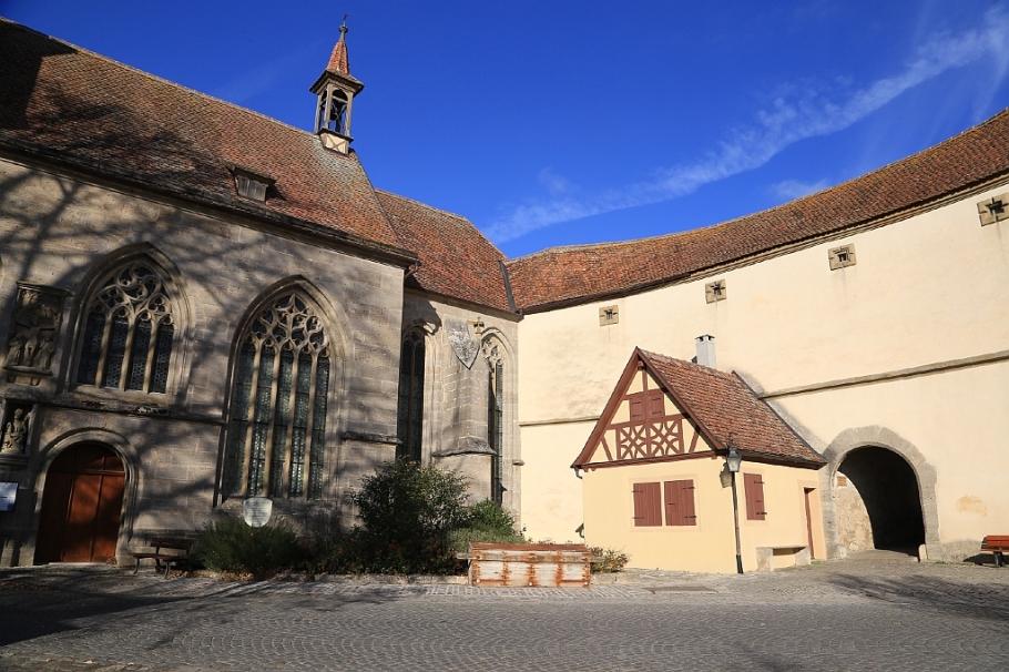 St. Wolfgangskirche, Rothenburg ob der Tauber, Middle Franconia, Mittelfranken, Bayern, Bavaria, Germany, fotoeins.com