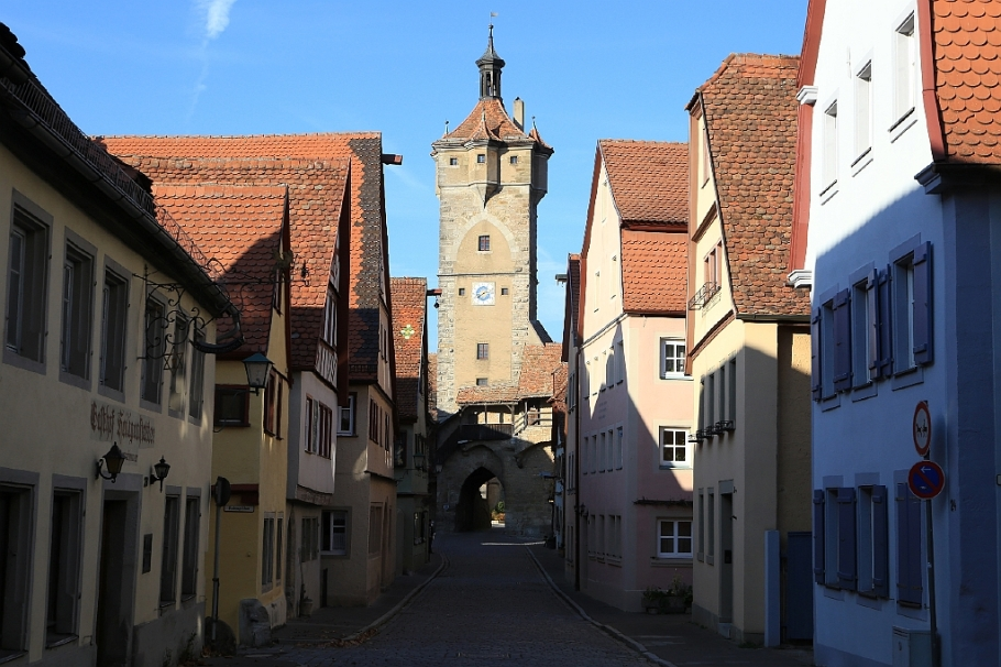 Klingentor, Rothenburg ob der Tauber, Middle Franconia, Mittelfranken, Bayern, Bavaria, Germany, fotoeins.com