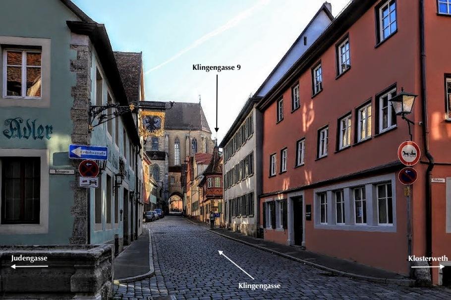 Klingengasse, Rothenburg ob der Tauber, Middle Franconia, Mittelfranken, Bayern, Bavaria, Germany, fotoeins.com
