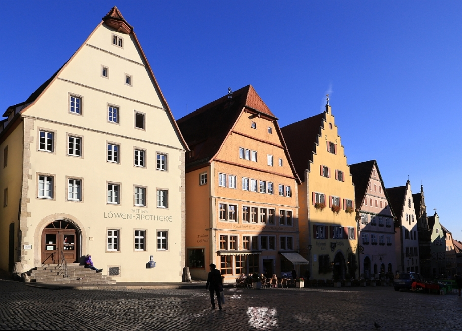 Marktplatz, Rothenburg ob der Tauber, Middle Franconia, Mittelfranken, Bayern, Bavaria, Germany, fotoeins.com