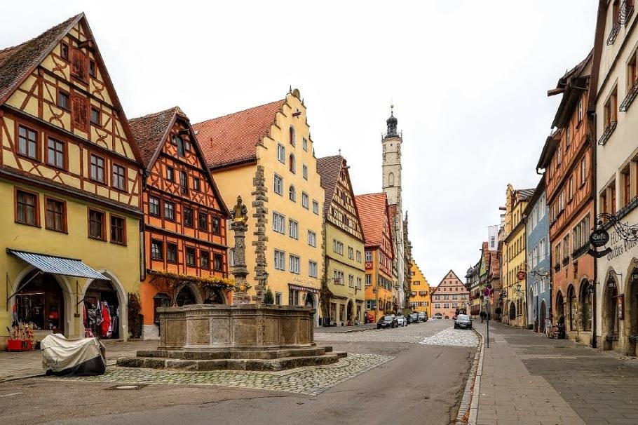 Herrngasse, Rothenburg ob der Tauber, Middle Franconia, Mittelfranken, Bayern, Bavaria, Germany, fotoeins.com