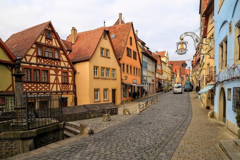 Plönlein, Rothenburg ob der Tauber, Middle Franconia, Mittelfranken, Bayern, Bavaria, Germany, fotoeins.com