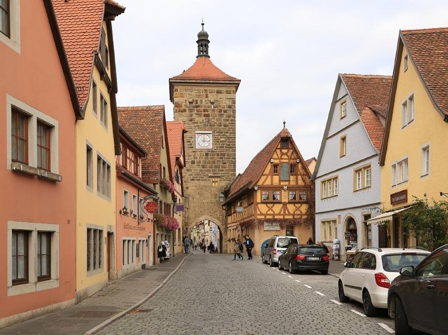 Siebersturm, Siebers Tower, Rothenburg ob der Tauber, Middle Franconia, Mittelfranken, Bayern, Bavaria, Germany, fotoeins.com