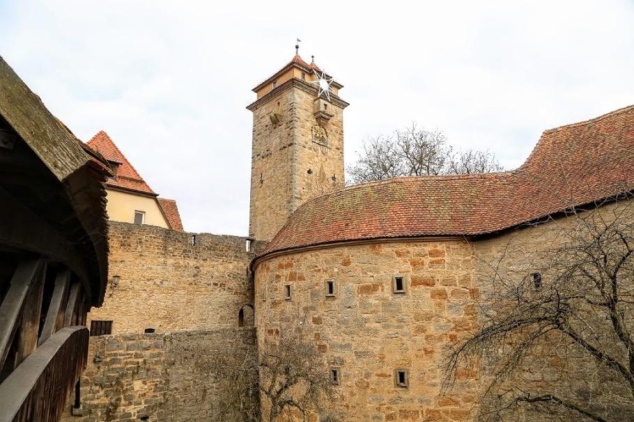 Spitaltor, Spital Gate, Rothenburg ob der Tauber, Middle Franconia, Mittelfranken, Bayern, Bavaria, Germany, fotoeins.com