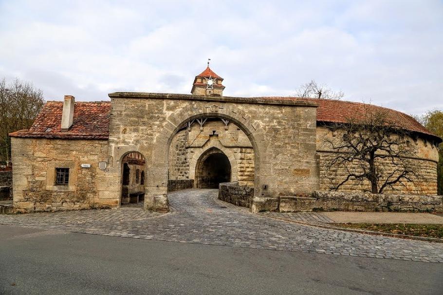 Spitalbastei, Spital Bastion, Rothenburg ob der Tauber, Middle Franconia, Mittelfranken, Bayern, Bavaria, Germany, fotoeins.com