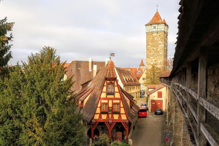Gerlachschmiede, Rödertor, Old Forge, Röder Gate, Rothenburg ob der Tauber, Middle Franconia, Mittelfranken, Bayern, Bavaria, Germany, fotoeins.com