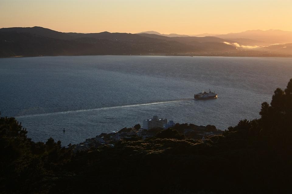 Te Whanganui a Tara, Port Nicholson, Wellington Victoria, Mount Victoria, tangi te keo, Wellington, New Zealand, Aotearoa, fotoeins.com