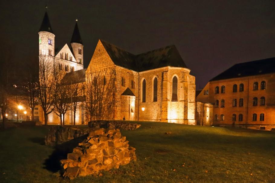 Kunstmuseum Kloster Unser Lieben Frauen, Monastery of Our Lady, Romanesque Road, Strasse der Romanik, Magdeburg, Sachsen-Anhalt, Saxony Anhalt, Germany, Deutschland, fotoeins.com