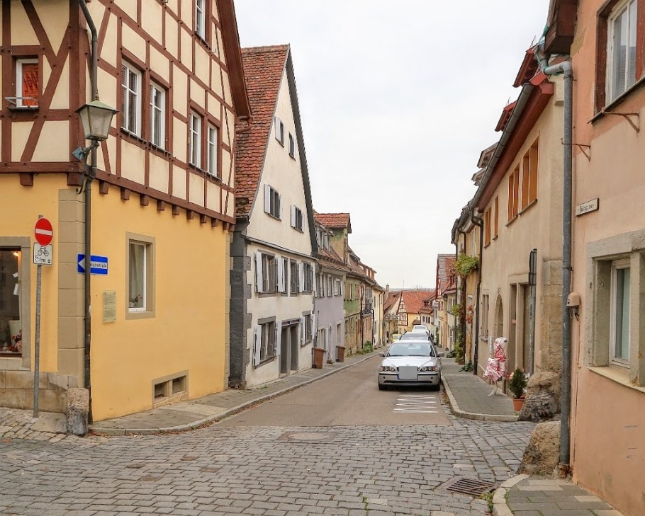 Judengasse Heugasse, Rothenburg ob der Tauber, Germany, fotoeins.com