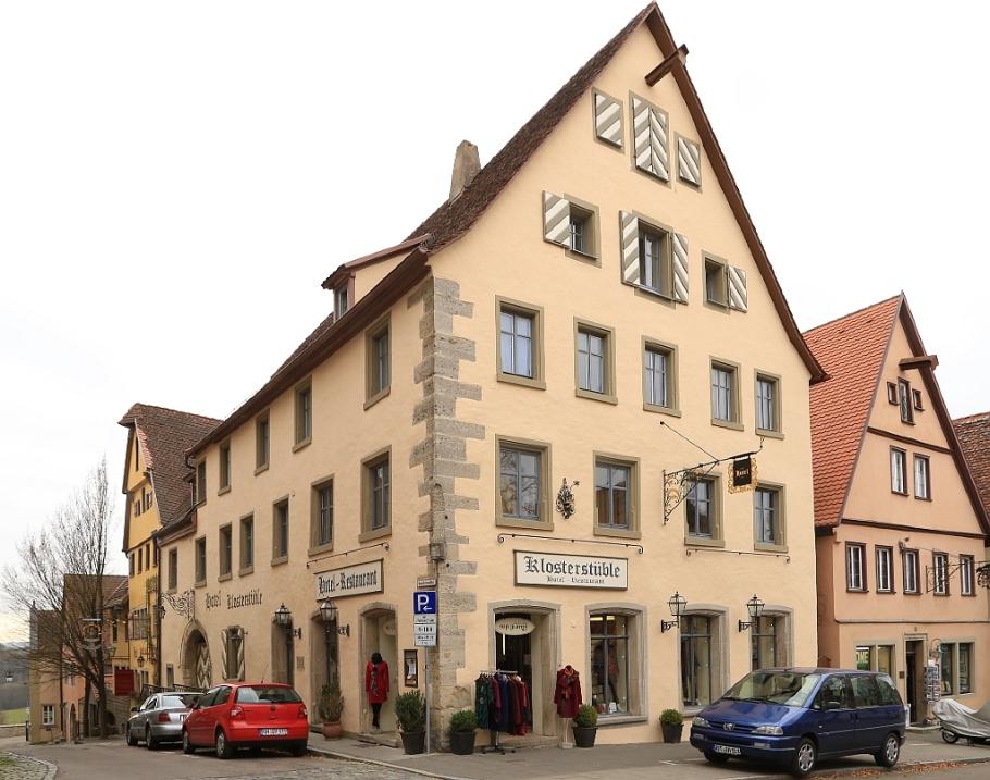 Ehem. jüdisches Betsaal, former prayer hall, 3rd Synagogue, Altstadt, Rothenburg ob der Tauber, Germany, fotoeins.com
