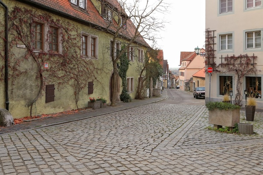 Judengasse, Am Platzl, Rothenburg ob der Tauber, Germany, fotoeins.com