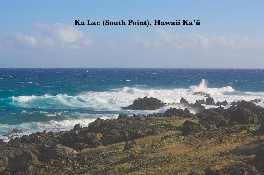 South Point Cliff Dive, Ka Lae, Big Island, Hawaii, USA, MyRTW, fotoeins.com