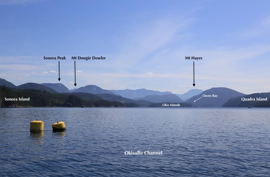 Okisollo Channel, Brent Island, Strathcona Regional District, British Columbia, Canada, fotoeins.com