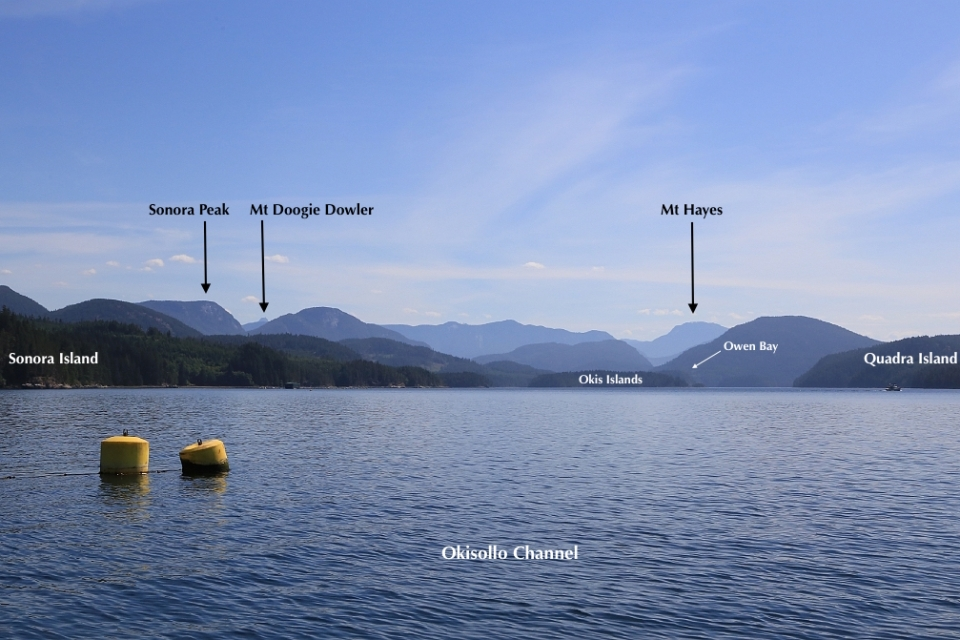 Okisollo Channel, Brent Island, Strathcona Regional District, British Columbia, Canada, fotoeins.com