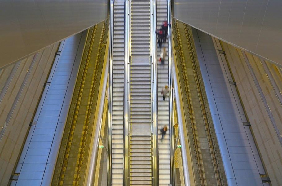 Hauptbahnhof, Leipzig City Tunnel, S-Bahn Mitteldeutschland, Leipzig, Germany, fotoeins.com