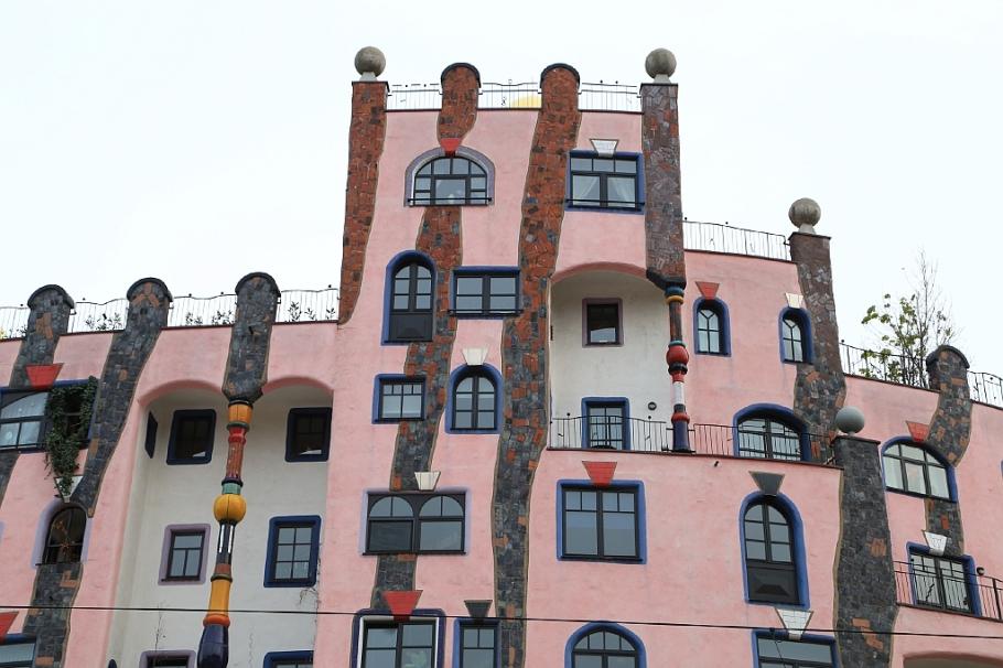Gruene Zitadelle, Green Citadel, Friedensreich Hundertwasser, Magdeburg, Sachsen-Anhalt, Saxony-Anhalt, Germany, fotoeins.com