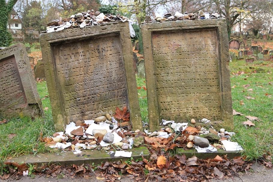 Jewish gravestones, Rabbi Meir ben Baruch, Alexander ben Salomon Wimpfen, Juedischer Friedhof, Heiliger Sand, Jewish Cemetery Holy Sand, Worms, Rheinland-Pfalz, Germany, fotoeins.com