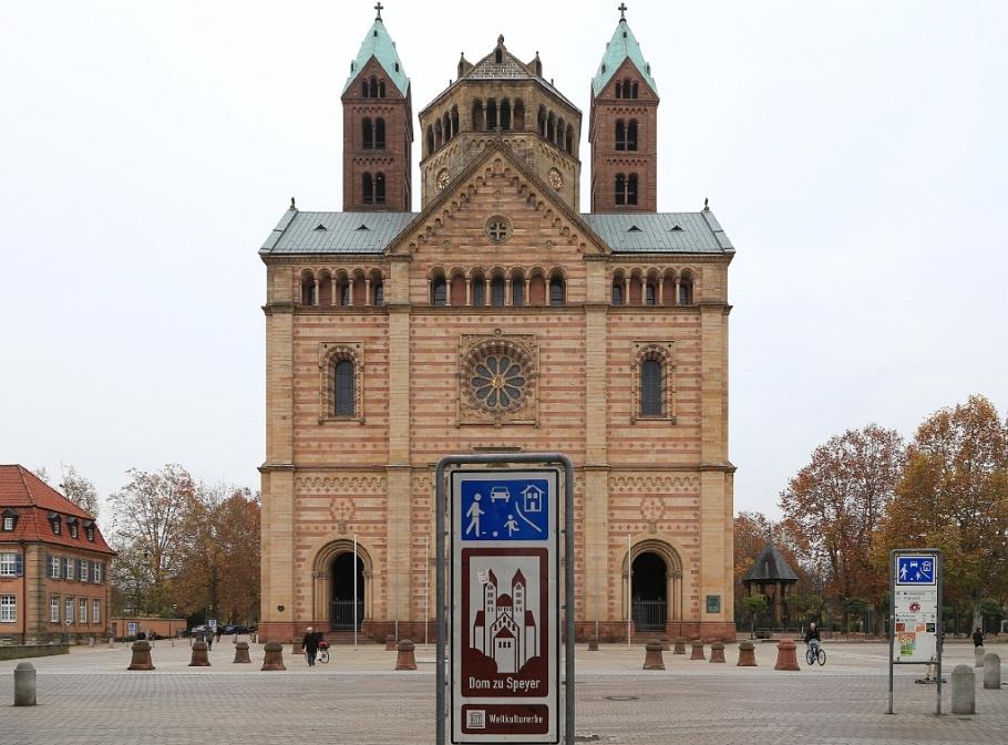 Kaiserdom, Dom zu Speyer, Speyer, Germany, fotoeins.com