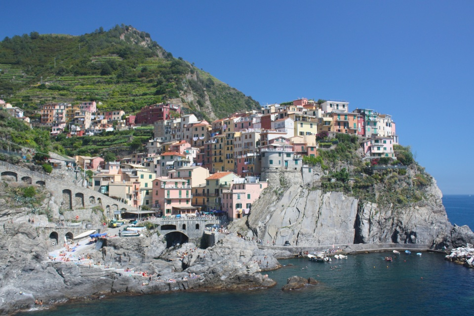 Manarola, Cinque Terre, Ligurian Riviera, Ligurian Sea, Liguria, La Spezia, Italy, UNESCO, World Heritage, fotoeins.com