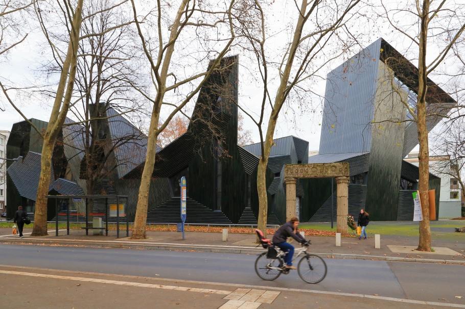 ainzer Synagoge, Synagogenplatz, Mainz, Rheinland-Pfalz, Rhineland-Palatinate, Germany, fotoeins.com